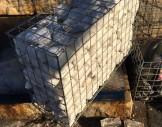 Hasır tel/çelik hasır tel  ile gabion imalatı
