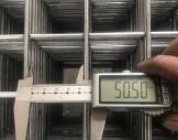 çelik hasır tel  5x5 cm çelik hasır tel 4 mm tel çapı 100/200 cm plaka ölçülerinde