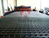 çelik hasır tel  5x5 cm hasır tel 3.6mm tel çapı 150/200 cm plaka ölçülerinde