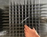 Çelik hasır 3x3 cm 4 mm raf teli/pano teli/Stant teli